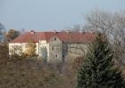 Zamek, widok z ul. Królowej Bony