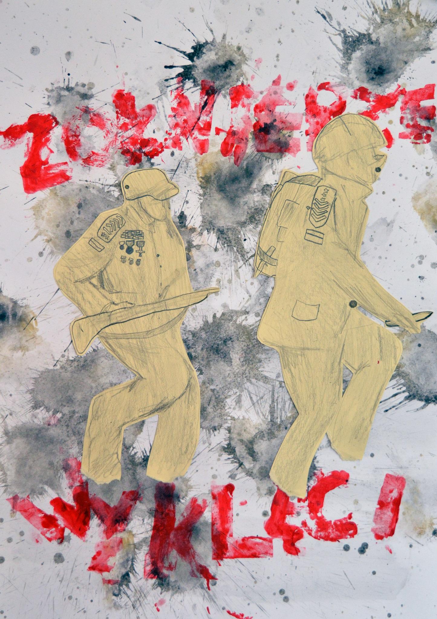 Prace Konkursowe Plakat Patriotyczny O żołnierzach