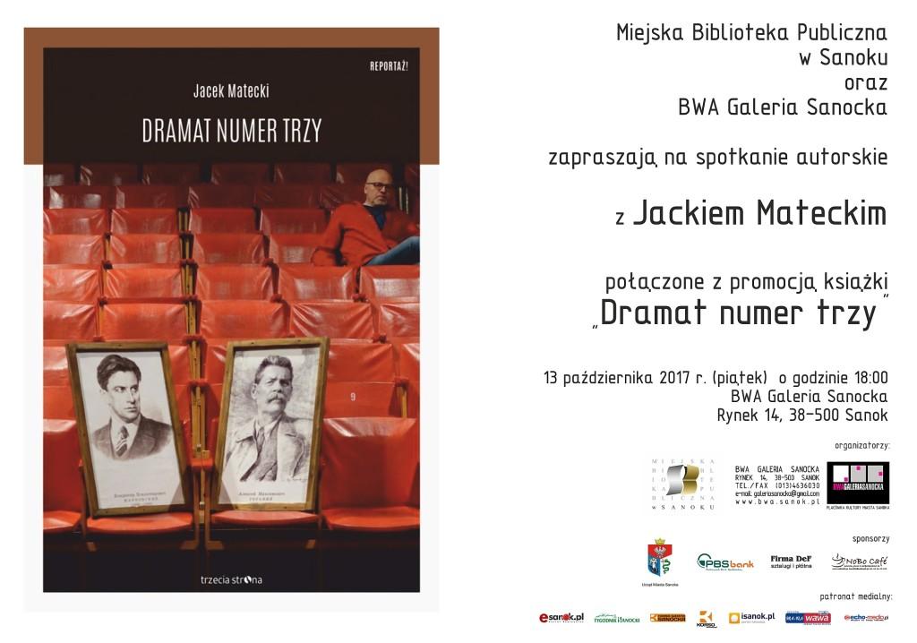 Jacek Matecki plakat