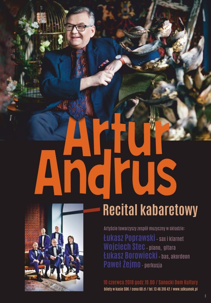 Recital Artura Andrusa
