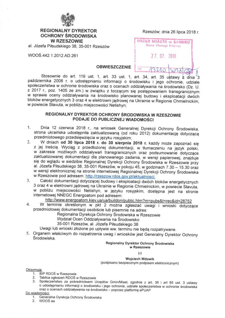 RDOŚ- obwieszczenie-1