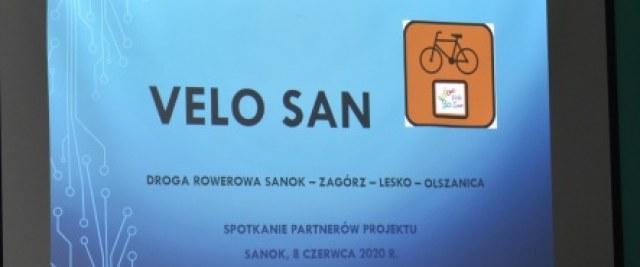 Miasto Sanok ważnym partnerem dla projektu Velo San