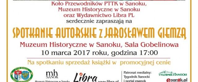Spotkanie Autorskie z Jarosławem Giemzą