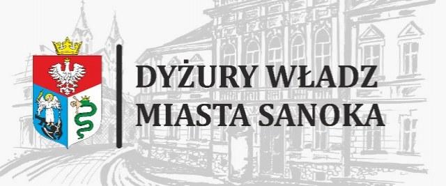 Dyżury Władz Miasta Sanoka – sierpień 2019