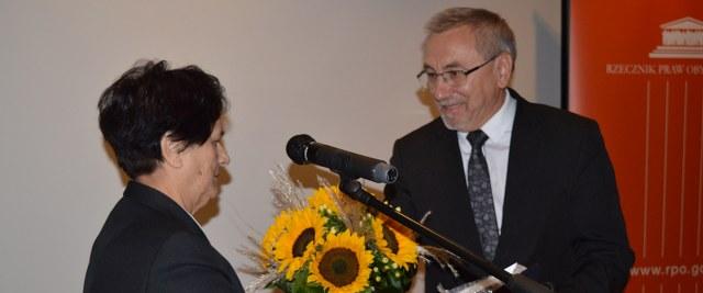 Sanoczanka odznaczona przez Rzecznika Praw Obywatelskich