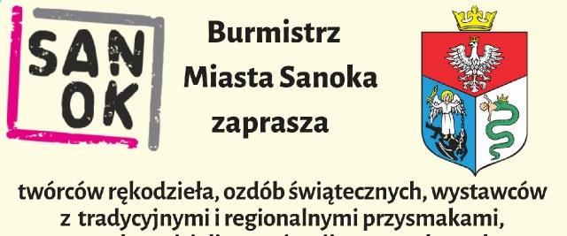 Zaproszenie na Jarmark Adwentowy do Sanoka