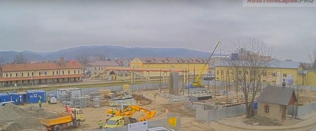 Codzienny raport z budowy dworca multimodalnego (VIDEO)