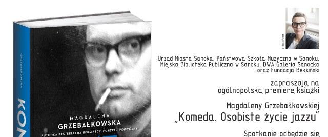 """Premiera książki """"Komeda. Osobiste życie jazzu"""""""