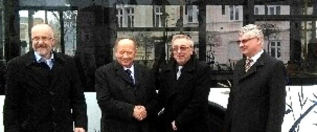 Prezydent Ferenc z wizytą u Burmistrza Sanoka