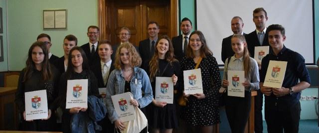 Zaprzysiężenie Młodzieżowej Rady Miasta Sanoka