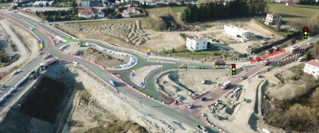 Budowa obwodnicy Sanoka – zmiana organizacji ruchu na skrzyżowaniu DK28 z DW886