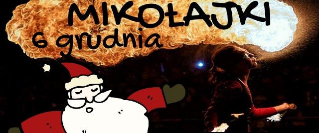 Święty Mikołaj na sanockim Rynku. W programie Teatr Ognia