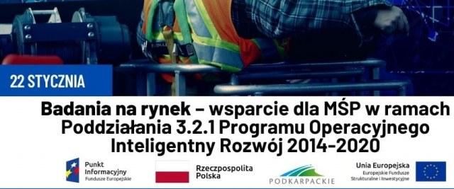 Badania na rynek – wsparcie dla MŚP w ramach Poddziałania 3.2.1 Programu Operacyjnego Inteligentny Rozwój 2014-2020