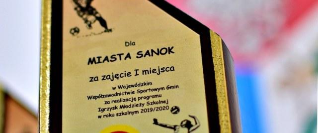Miasto Sanok ponownie numerem 1 we współzawodnictwie sportowym na Podkarpaciu