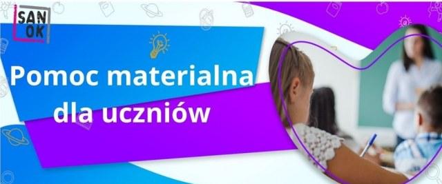 Pomoc materialna dla uczniów w roku szkolnym 2021/2022