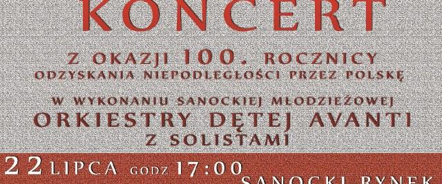 NIEDZIELA: Wyjątkowy koncert w 100. rocznicę niepodległości