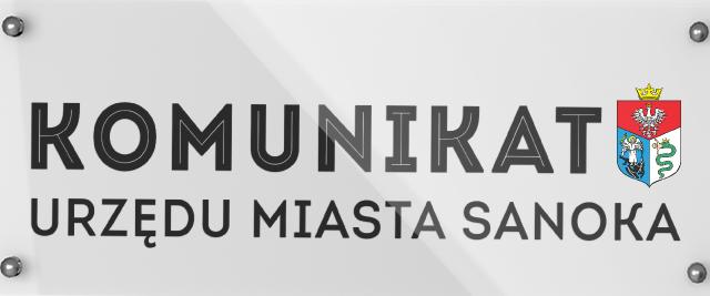 Nowe numery konta bankowego Gminy Miasta Sanoka