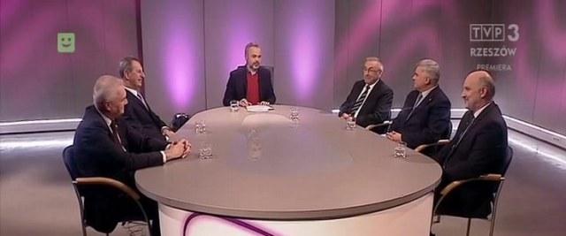 Samorządowcy podsumowali 2017 rok na antenie TVP Rzeszów