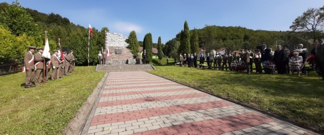 Uroczystości patriotyczne w Bykowcach