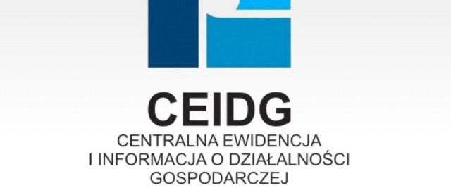 Informacja dla zainteresowanych rozpoczęciem, zawieszeniem i zakończeniem działalności gospodarczej