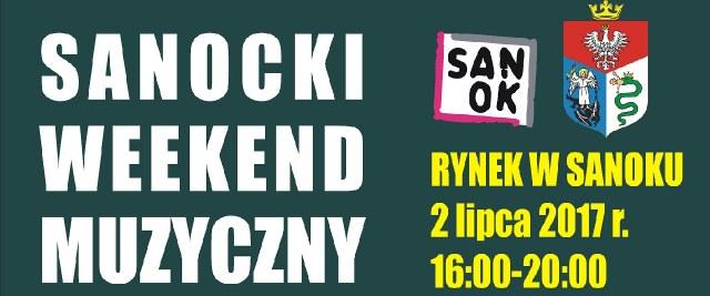 Kolejny Sanocki Weekend Muzyczny już w niedzielę na Rynku.