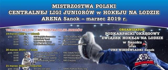 Mistrzostwa Polski CLJ w hokeju na lodzie