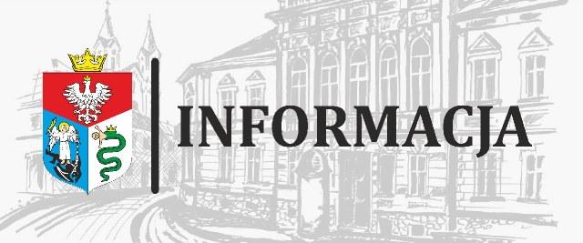 """Informacja Przewodniczącego Rady Miasta ws. nagród w dziedzinie """"Kultury i Sztuki""""."""