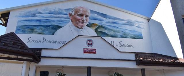 Mural Jana Pawła II