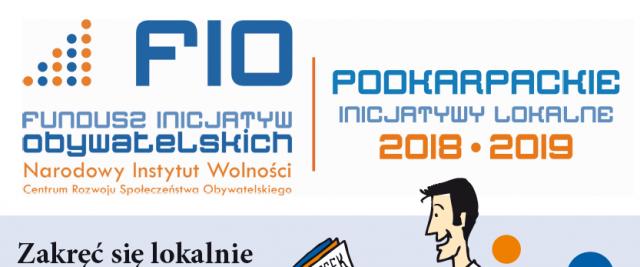 Podkarpackie Inicjatywy Lokalne 2018-2019