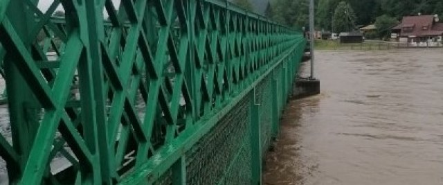 Alarm przeciwpowodziowy w powiecie sanockim