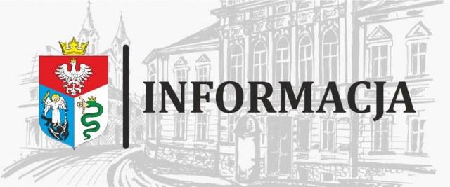 Informacja w sprawie wyborów do II tury